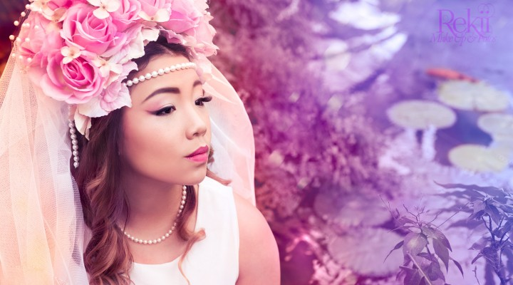 DIY: Rosen-Headpiece