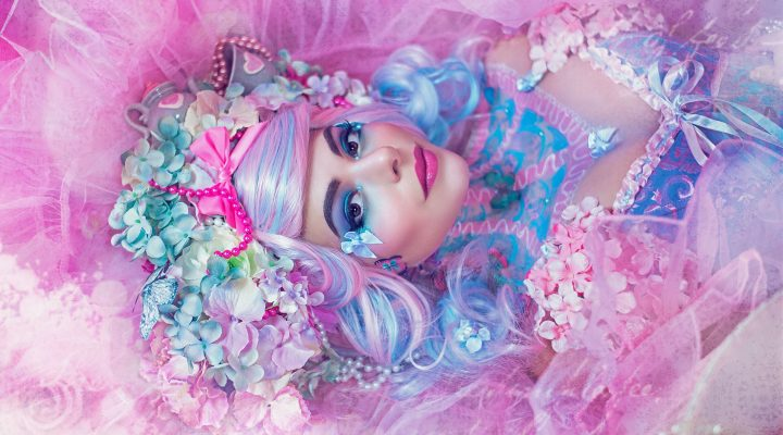 DIY: Pastel Wonderland Headdress