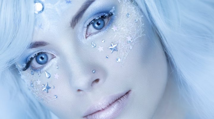Tutorial: Winter Make Up – Eis Applikationen