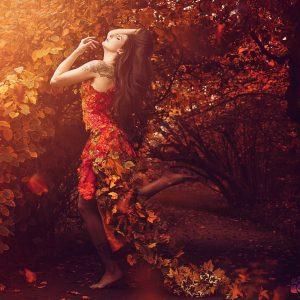 Der Herbst ist da!  – DIY-Haarkranz –