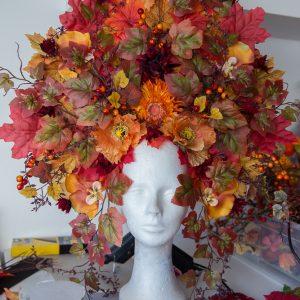 Herbst-Headdress Bastelanleitung