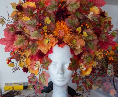 DIY: Herbst Headdress