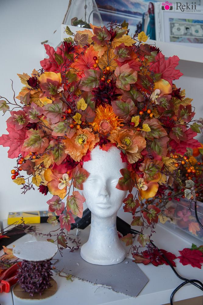 DIY: Herbst Headdress