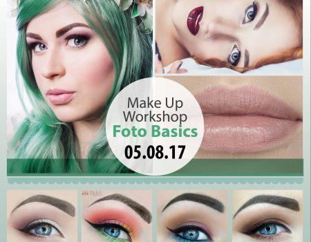 """Make Up Workshop """"Foto Basics"""" – 05.08.17"""