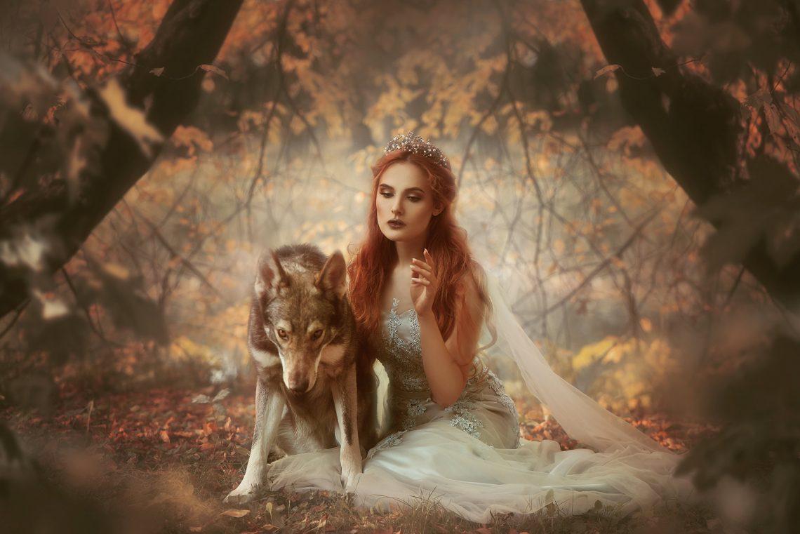 Unter Wölfen: Wolfshunde als Co-Models (Gastbeitrag)
