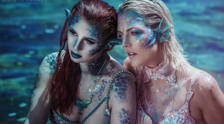 Tutorial: Mermaid Makeup