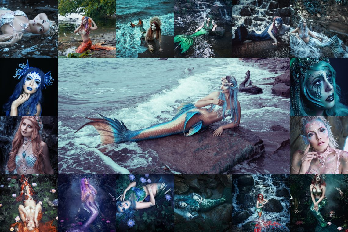Mermaid Posing Guide