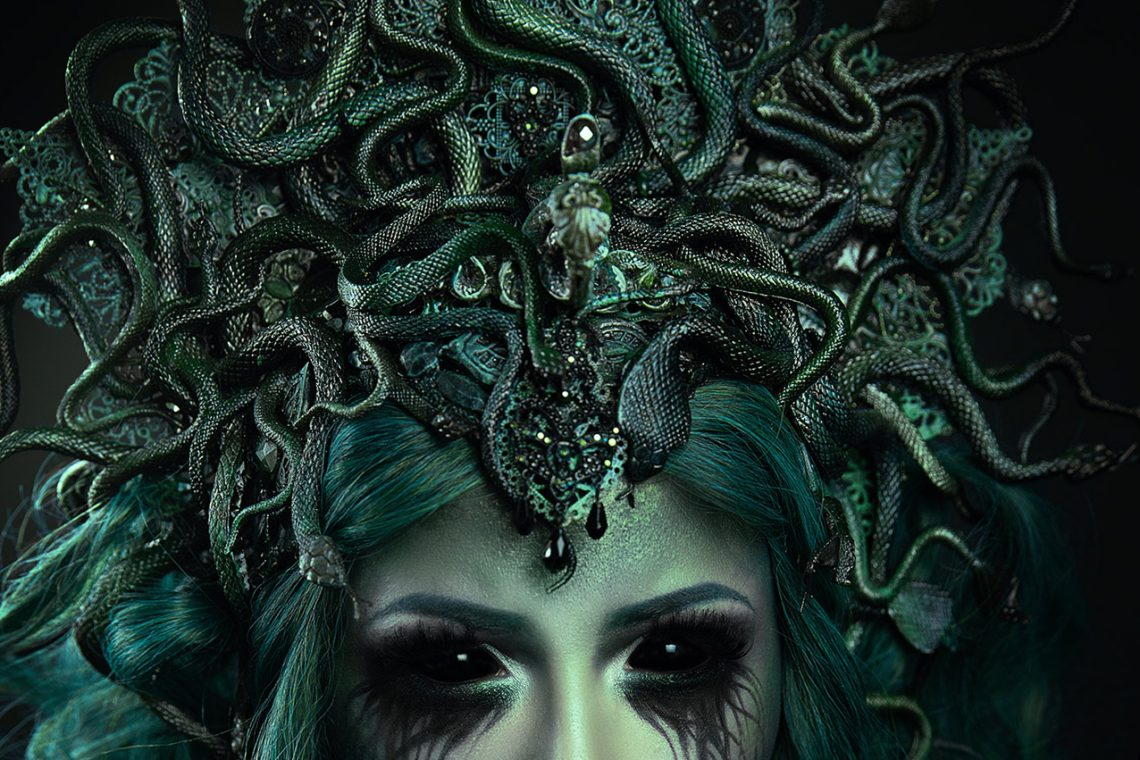 DIY: Medusa Headpiece
