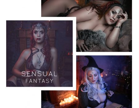 KOMPLETTPAKET Sensual Fantasy : 2 Outfits